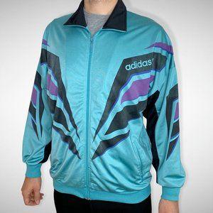 Adidas Vintage Spellout Track Jacket